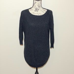 Express Over Sized Sweater Black Medium